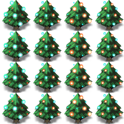 クリスマスツリーa キャラクタ画像 素材 データ Rmake